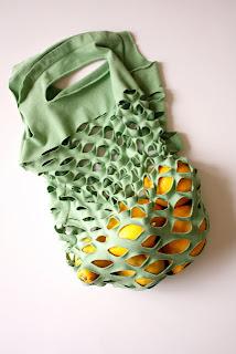 como hacer una bolsa de compras reciclada
