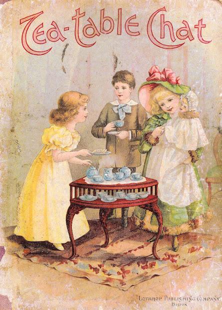 Antique Vintage Victorian Graphic