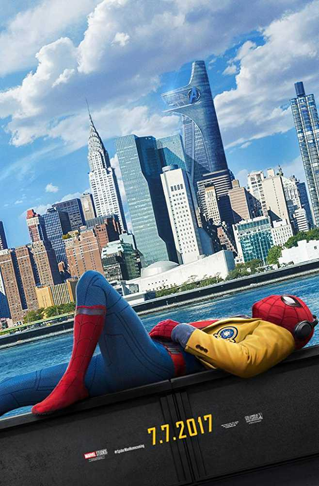 Poster Spider-Man: Homecoming 2017 Dual Audio HD 720p