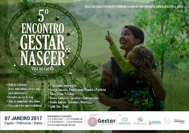 Vale do Capão sedia evento sobre humanização materno-infantil e empreendedorismo materno