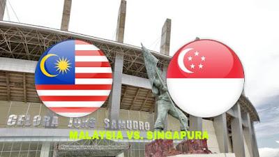 Live Streaming Malaysia vs Singapura Kejohanan AFF B-16 5.8.2018