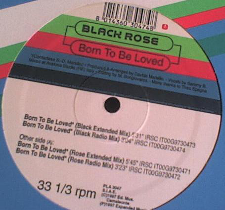 Sucessos De Sempre Black Rose Born To Be Loved