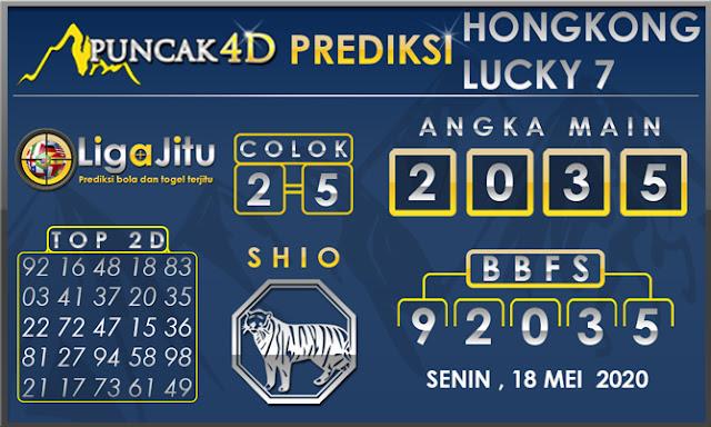 PREDIKSI TOGEL HONGKONG LUCKY 7 PUNCAK4D 18 MEI 2020