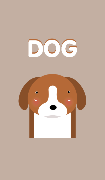 Simple dog theme