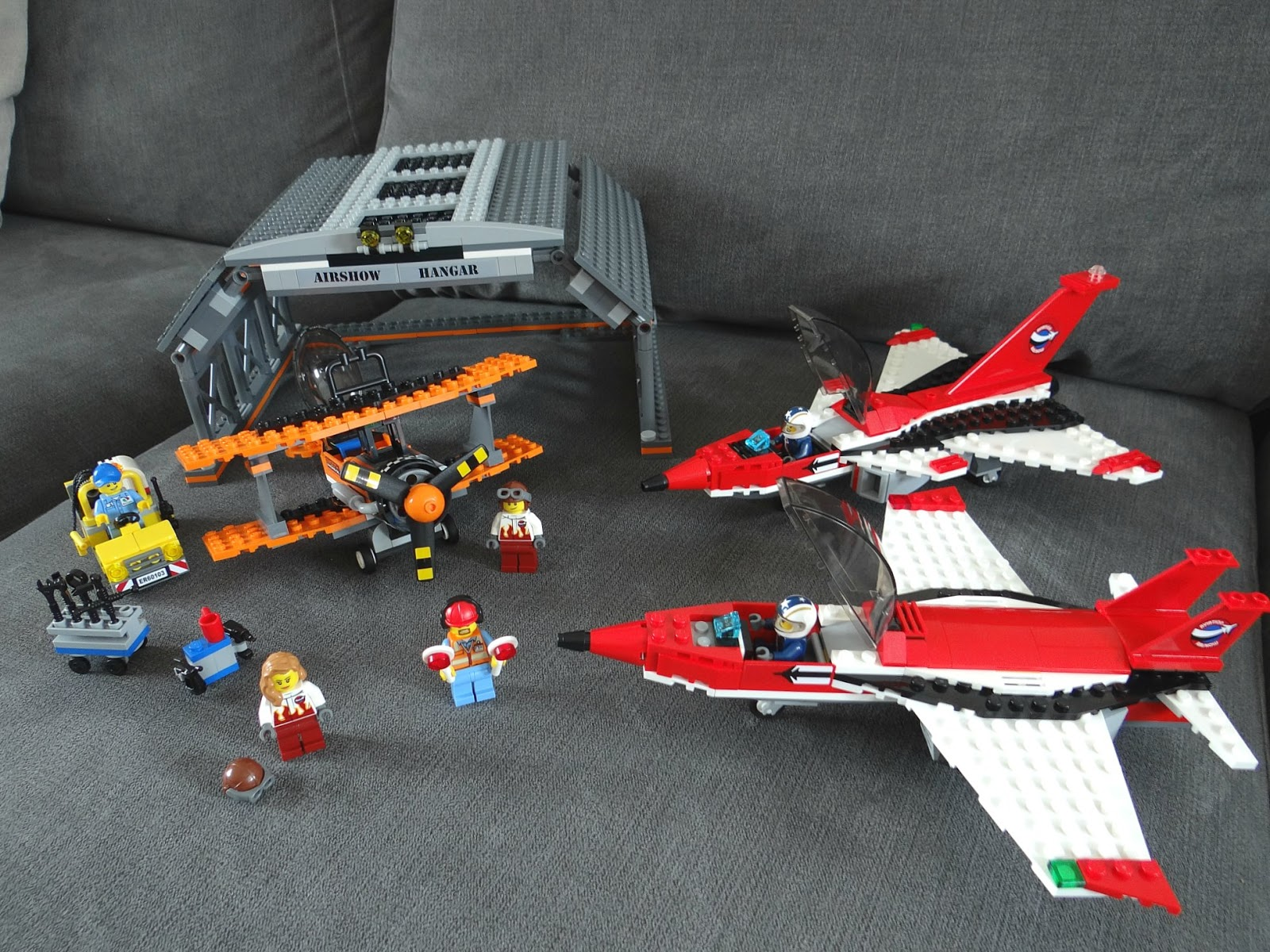 New LEGO City Range: Airport (ft. Air Show Set) | This Is Life