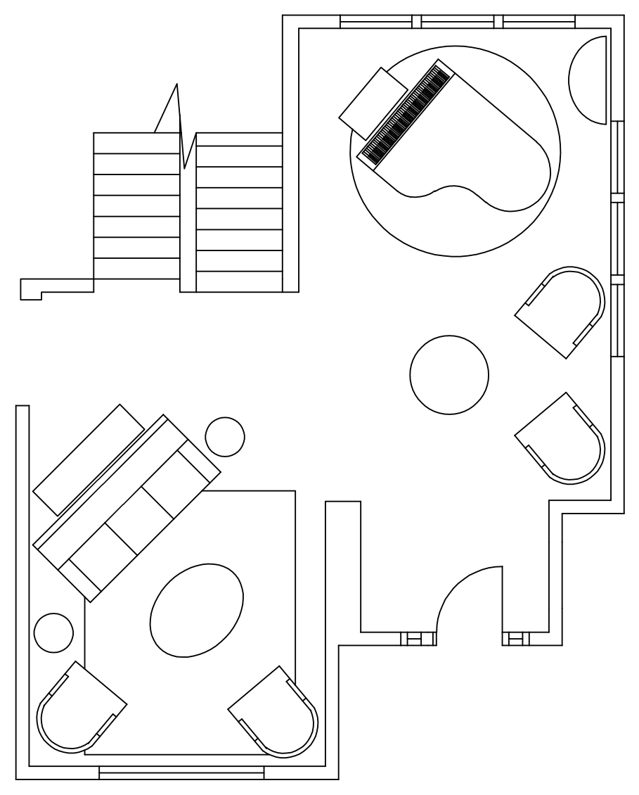 Door Templates Sketchup & Sketchup Floor Plan Layout