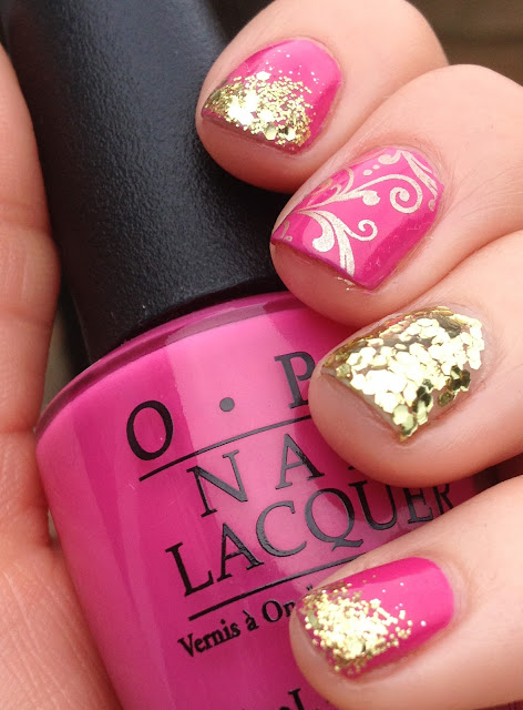 Nail Newbie Notd: Nail Newbie: In The Pink
