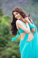 Kajal Aggarwal Dazzling Saree Latest Photo Stills TollywoodBlog