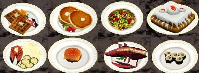 Sims  List Of Food