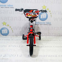 12in United Shark Kids Bike