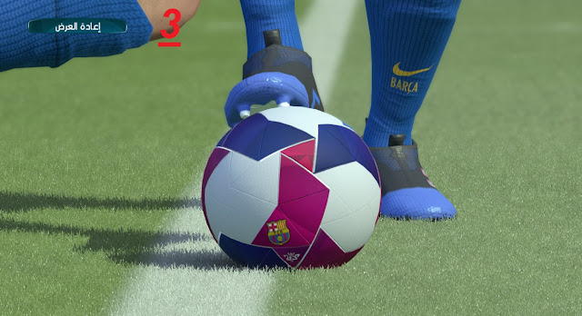 PES 2017 3BALL BARCELONA BY Pes 2017 Patch and Adds