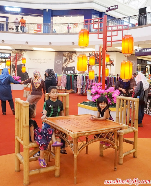 CNY 2019, A Blossoming Day,  Alamanda Shopping Centre, Alamanda CNY Decor, shopping centre, mall decor, cny mall decor, malaysia shopping mall decor, lifestyle