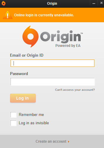 The Game Tips And More Blog: Origin - In Offline Mode