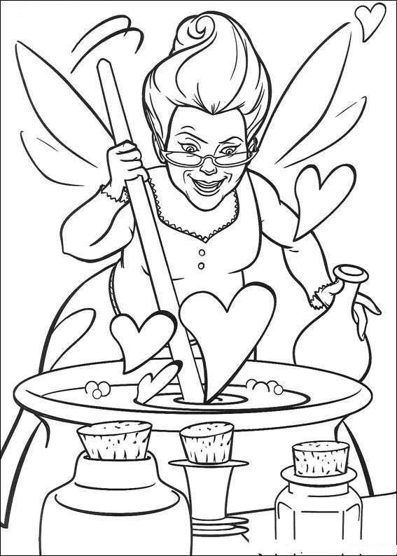 Shrek the Third coloring pages on Coloring-Book.info | 794x567