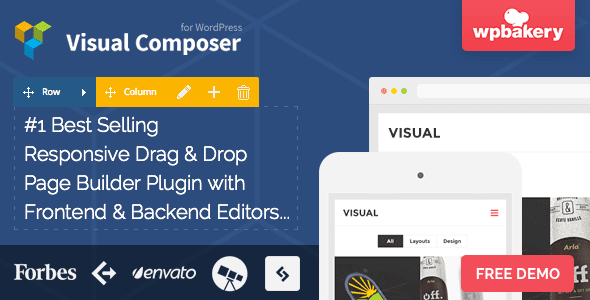 Download Visual Composer v4 4 1 - free template 2015 Page