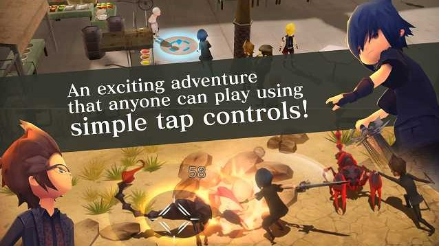 Final Fantasy XV Pocket Edition MOD Apk Unlocked