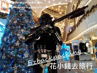 StarWars聖誕燈飾展覽