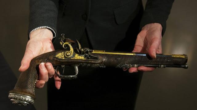 Pistola de Simom Bolivar