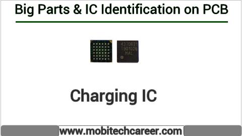 Charging IC identification on mobile cell phone smartphone pcb circuit board motherboad | Charging IC ki mobile phone pcb par pahchan kaise kare | Charging IC की मोबाइल रिपेयरिंग में पीसीबी पर पहचान करना सीखें कार्य व खराबियाँ | मोबाइल रिपेयर करना हिन्दी में सीखें | PCB पर All IC पहचान
