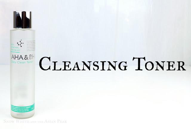 Mizon AHA/BHA Daily Clean toner