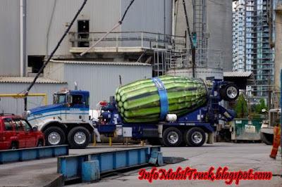 Gambar model truk molen paling besar