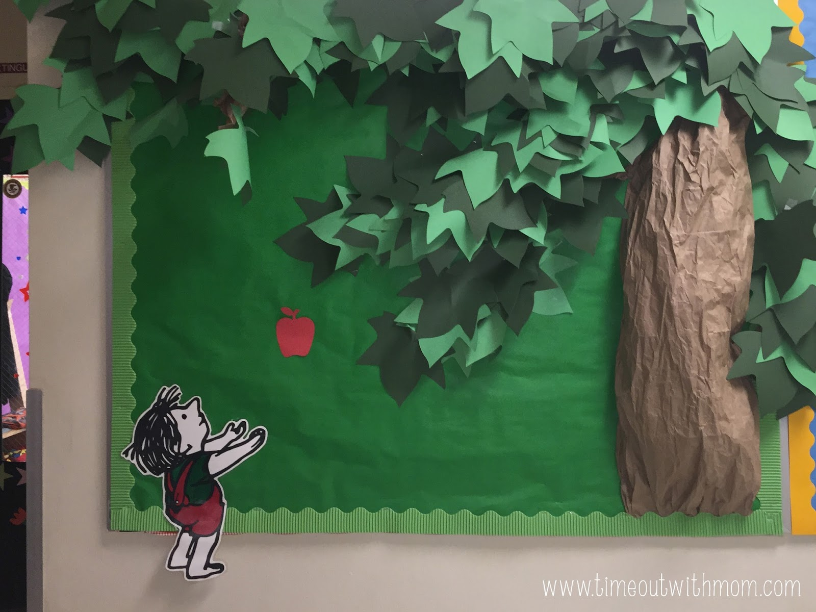 The Giving Tree Bulletin Board