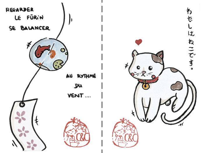 etegami fūrin et chat