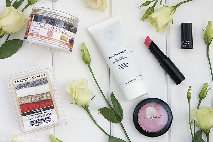 ulubione kosmetyki i woski zapachowe