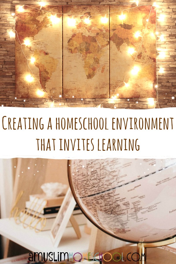 Creating a homeschool environment that inspires learning
