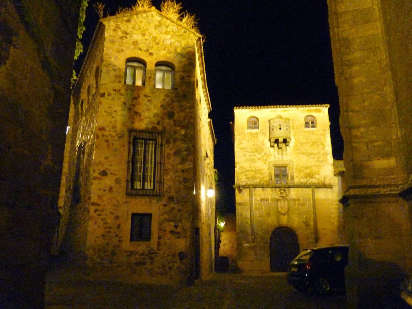Cáceres, Casa del Águila y del Sol.