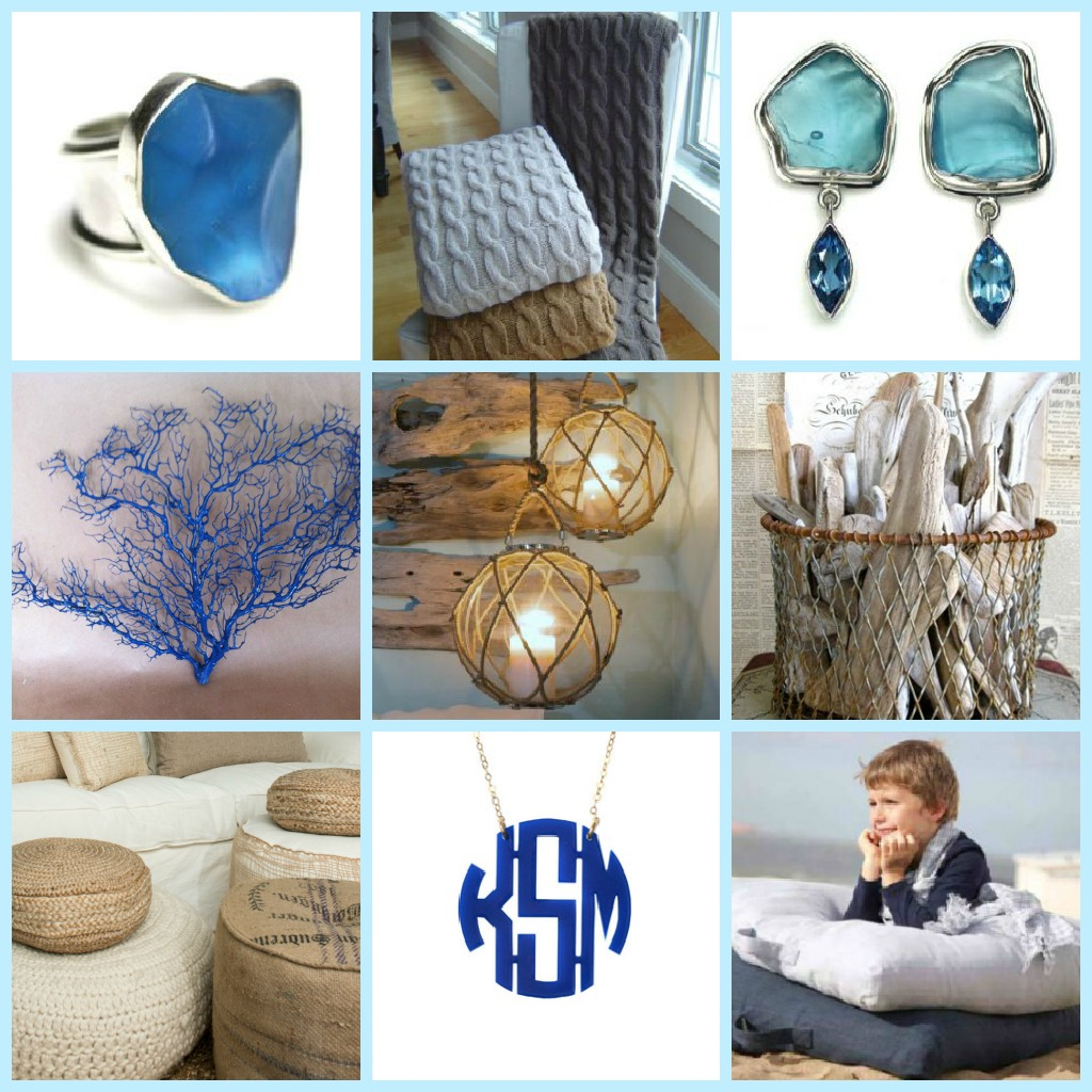 coastal, holiday, gift guide