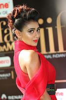 Apoorva in a Stunning Tight Leg Split Sleeveless Red Gown at IIFA Utsavam Awards 14.JPG