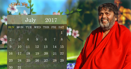 Monthly Calendar - July 2017