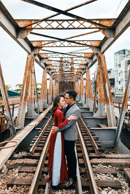 Phố cổ Hà Nội - nét riêng tạo nên bộ ảnh cưới ấn tượng