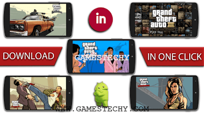 Highly compressed GTA games on Android free download