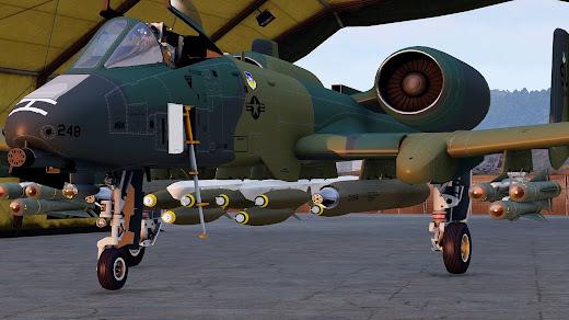 Arma3に爆弾やミサイル、ターゲティング ポッドを追加する MOD