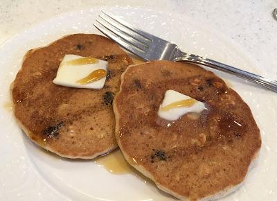 Gluten Free Oatmeal Raisin Pancakes
