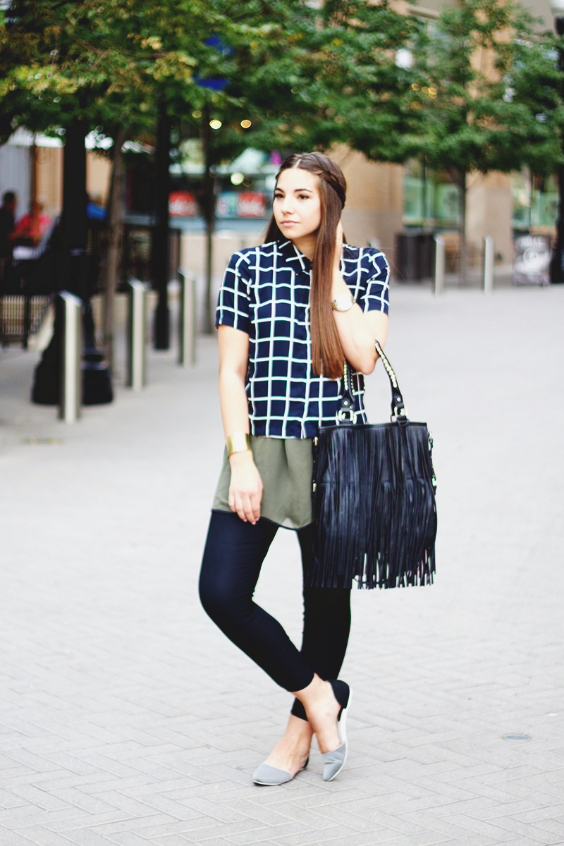comfortable work pants, fringe purse