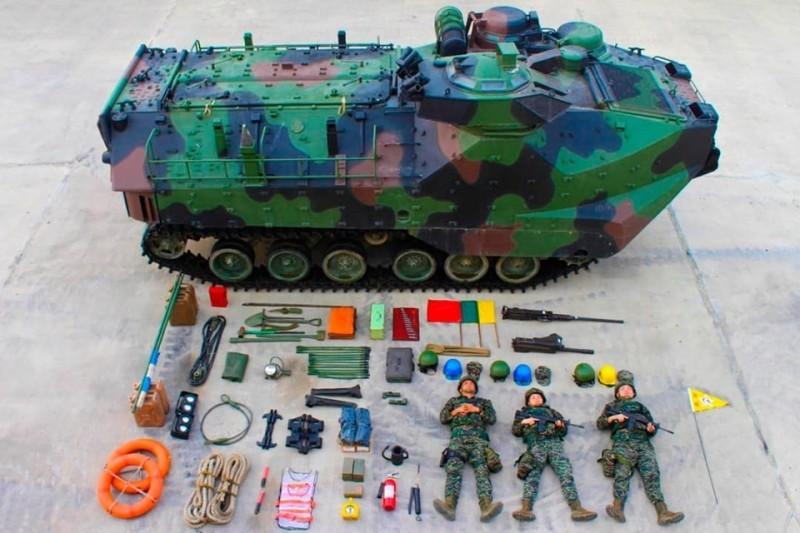 Десантна машина AAV-7 Корпусу морської піхоти Тайваню
