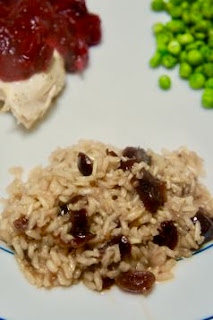 Orange Cranberry Almond Rice Pilaf: Savory Sweet and Satisfying
