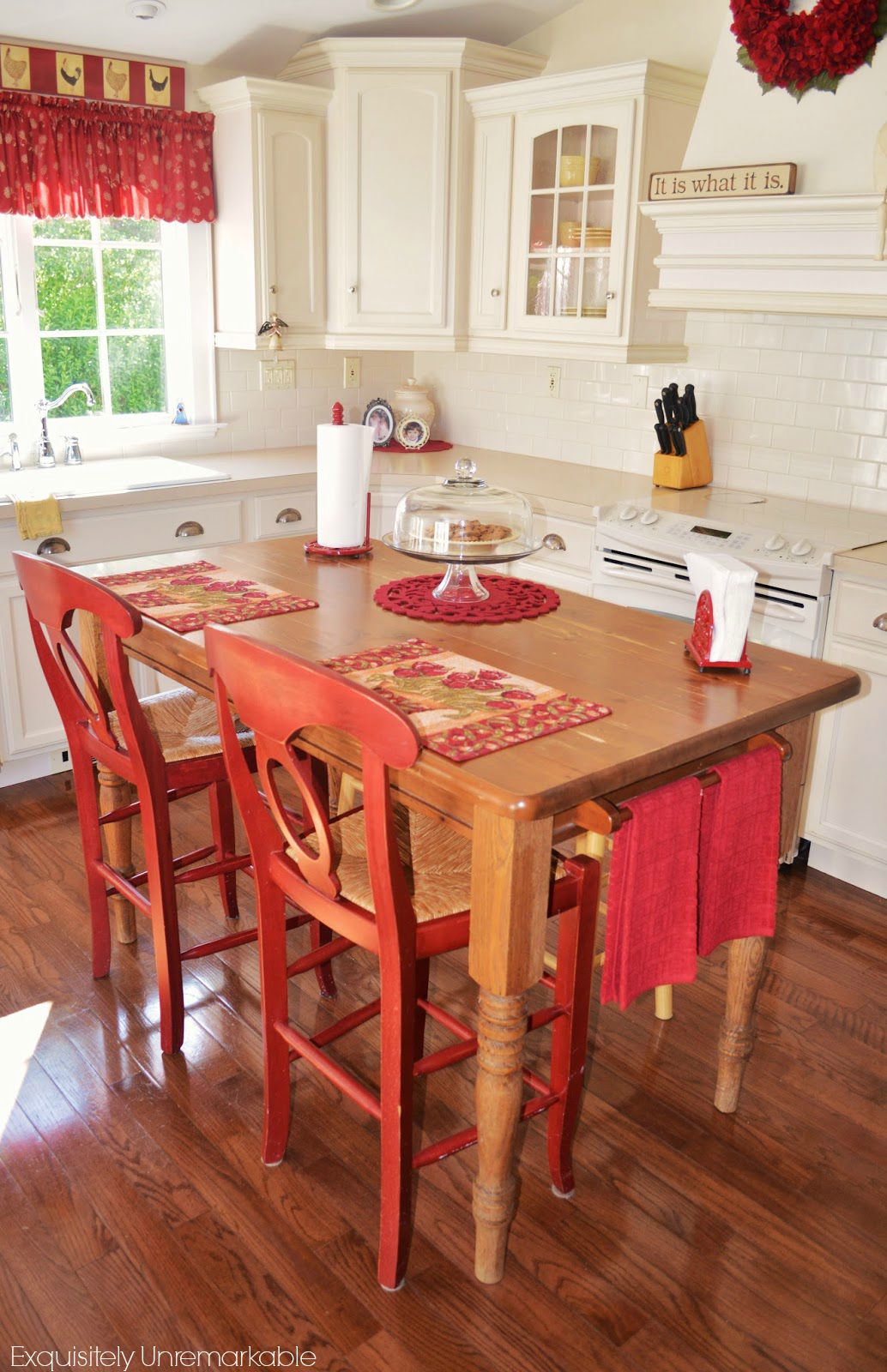Turn Your Kitchen Table Into A Farmhouse Island Exquisitely Unremarkable