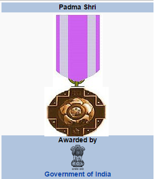 Govt of India Announced Padma Shri Awards 2016 on Republic day