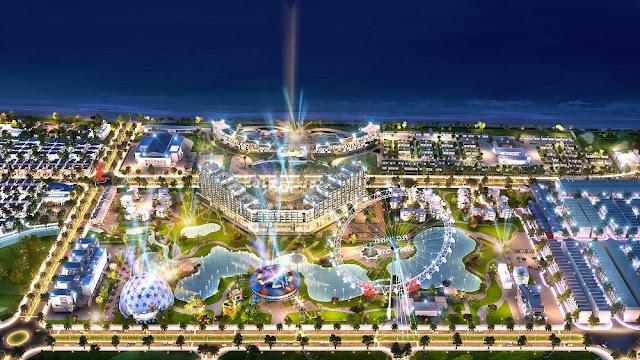 Phối cảnh dự án FLC Lux City