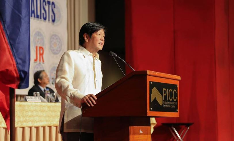 Bongbong Marcos was guest of honor in dentist's oathtaking ceremony | Photo courtesy: Facebook/Bongbong Marcos
