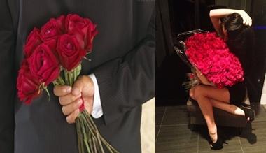 Embora todas as rosas estejam ligadas à profundidade de sentimentos, as rosas vermelhas são mais reveladoras,pois, a cor vermelha está ligada ao que há de mais intenso em nós. Assim são as rosas vermelhas; profundas, intensas, fascinantes.  Não há meio-termo para elas!