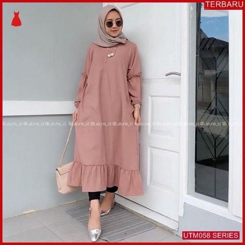 UTM058L48 Baju Lalune Muslim Longtunik UTM058L48 03A | Terbaru BMGShop