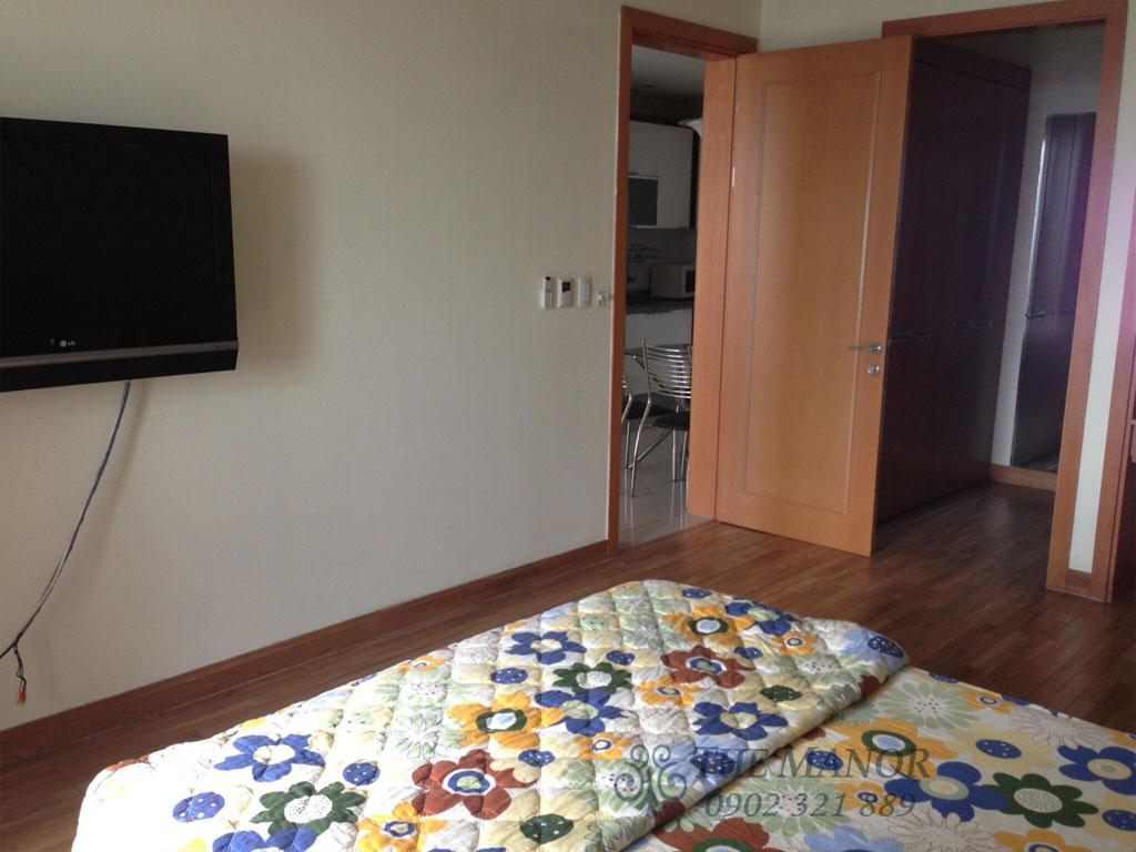 Căn hộ The Manor 100m2 cho thuê block AW tầng 24 full nội thất - hình 8