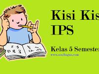 Kisi Kisi UKK/ UAS IPS Kelas 5 Semester 2/ Genap