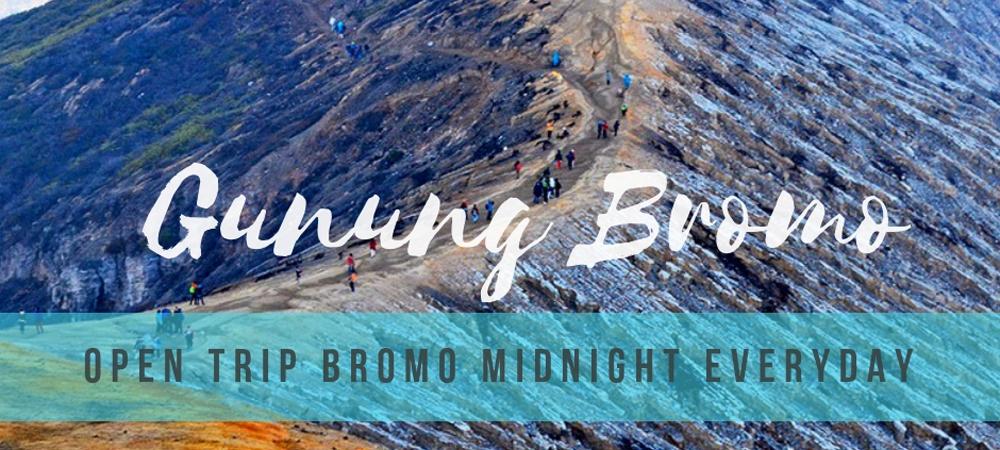 open trip bromo paling laris dan populer terjadwal dari surabaya setiap hari