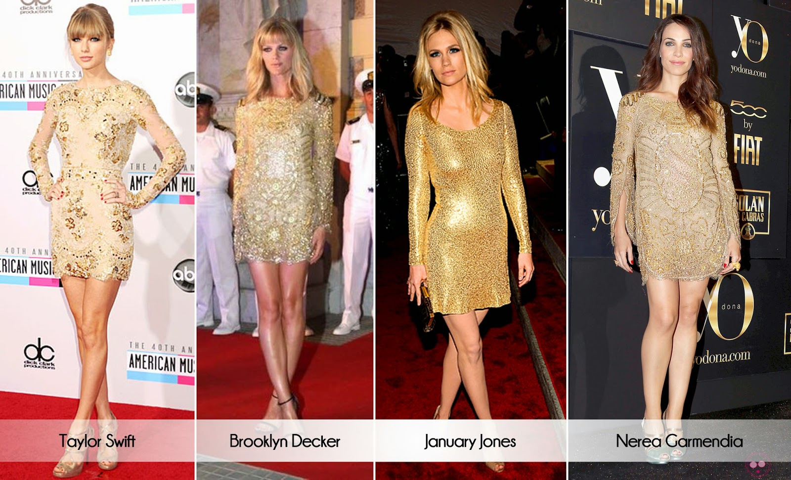 Vestidos elegantes de diseрів±adores famosos